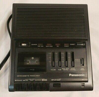 Panasonic Microcassette Rr-930 Transcriber Recorder Player Only