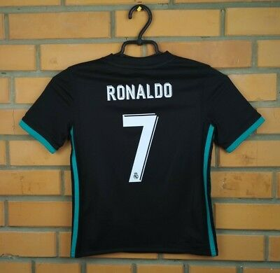 f0b69084bb5 Ronaldo Real Madrid kids jersey 7-8 years 2018 away shirt B31092 soccer  Adidas