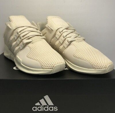 7fd70dd6a2a5 Adidas Mens Size 12 EQT Support Adv Triple Ivory Athletic Sneaker New