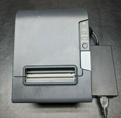 Epson Tm-t88v M244a Usb Thermal Receipt Printer W Ps-180 Supply