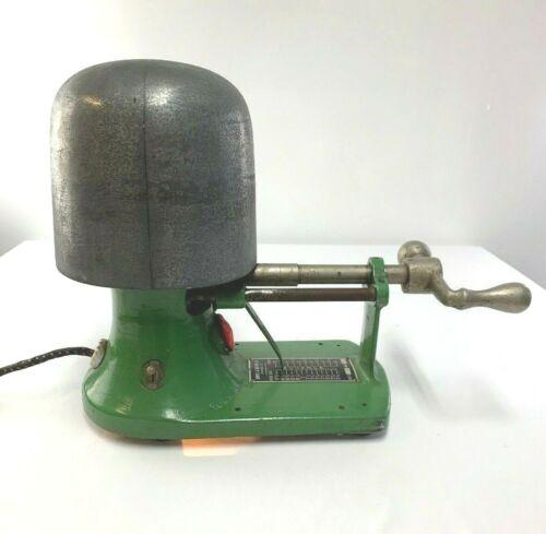 Vintage Domke & ULM MFG. Co. Electric Hat Stretcher Millinery Industrial Fine