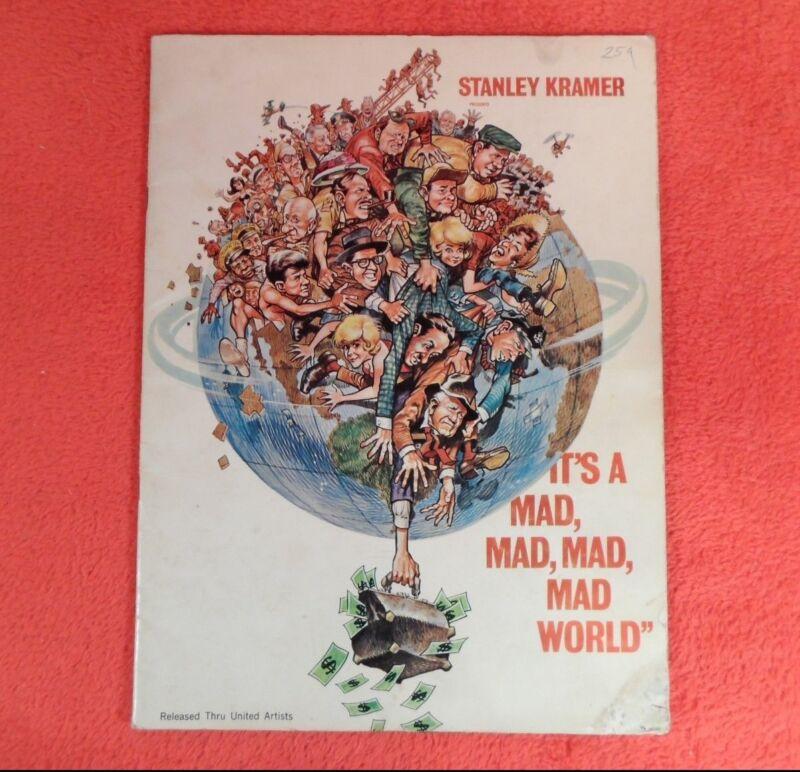 "*RARE* 1963 Movie Program Souvenir Book ""It"
