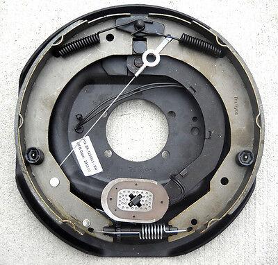 "Trailer Backing Plate Brake Electric 12"" Aftermarket Self Adjust Right Hand 7000"