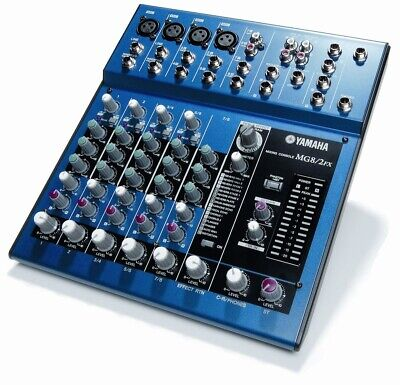 Mixer Yamaha MG8/2 FX con Effetti Voce for sale  Shipping to Nigeria