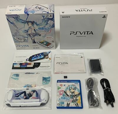 Sony PlayStation PS Vita Hatsune Miku Limited Edition  3G Wi-Fi model PCH-10001 for sale  Shipping to Nigeria