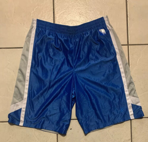 Starter Reversible Basketball Shorts With Pockets Men's Blue