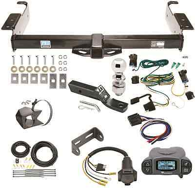 03-19 CHEVY EXPRESS TRAILER HITCH PACKAGE W/ TEKONSHA PRODIGY P3 BRAKE CONTROL - Trailer Hitch Brake Control