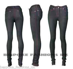 NEW LADIES SKINNY FIT COLOURED STRETCHY JEANS / WOMEN'S JEGGINGS TROUSERS 8-14