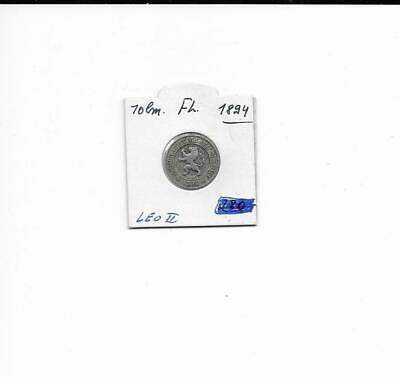 10 centimes leopold 2 1894 fl