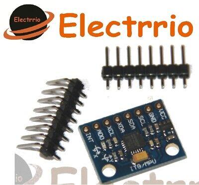 EL0401 MODULO GIROSCOPIO + ACELEROMETRO 3 axis Arduino MPU-6050 GY-521 6050 segunda mano  Embacar hacia Argentina