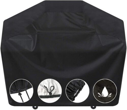 BBQ Gas Grill Cover 67 Inch Barbecue Waterproof Outdoor Heavy Duty UV Protection