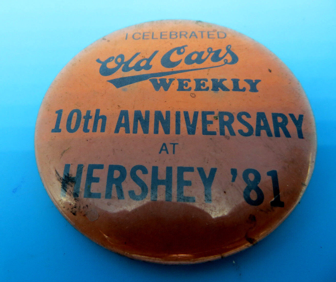 Vintage Old Cars Weekly Magazine 1981 Hershey PA 10th Anniversary ...