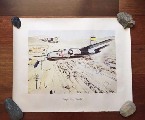 "VTG R.G. SMITH DOUGLAS B-26 ""INVADER"" PRINT"