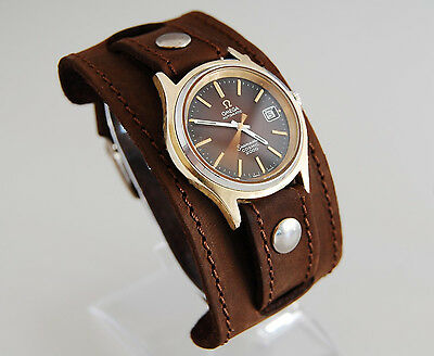 WATCH BAND GENUINE LEATHER STRAP CUFF BRACELET Nathan Drake Cosplay Style (Nathan Style)