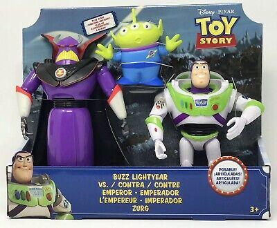 NIB NEW Toy Story Buzz Lightyear Vs Emperor Zurg Includes Alien Disney Pixar Pixar Buzz Lightyear