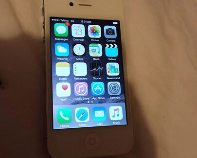 Iphone 4s mint condition swap for another mobile. No iphones plz Belmont Belmont Area Preview