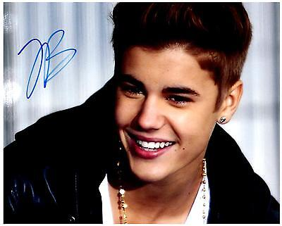 Justin Bieber autographed 8x10 Picture signed Photo with COA