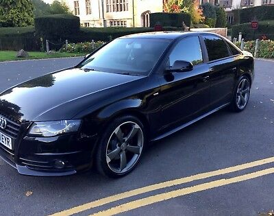 Audi A4  2011  S Line Breaking Damaged Salvage