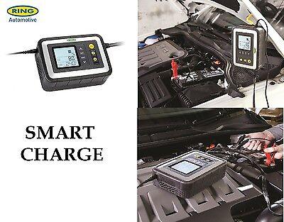 Ring 12v 12A UpTo 5.0L Car Van Intelligent & Smart Battery Charger Tester RSC612