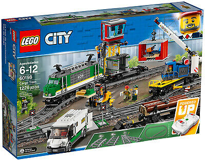LEGO 60198 CITY SET - TRENO MERCI - NUOVO !