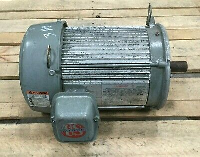 U.s. Electric 3 Hp Motor Unimount 125 1750 Rpm 208-230460v 182tc Frame