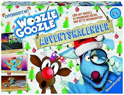 Ravensburger 18959 - Woozle Goozle Adventskalender 2019 Löse mit Woozle Goozle