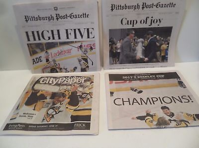 Pittsburgh Penguins 2017 Stanley Cup Post Gazette Newspaper   City   Special
