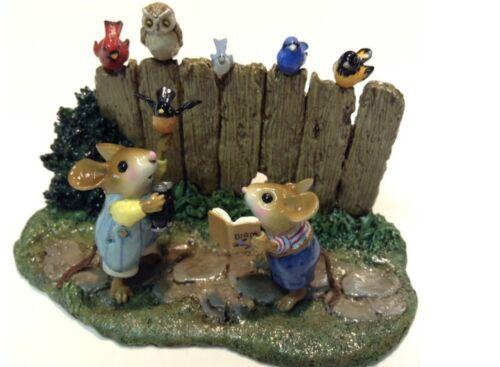 Wee Forest Folk Special Color Folktoberfest Birds Watching