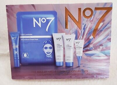 No7 The Best of Lift & Luminate Collection Limited Edition serum day nigh