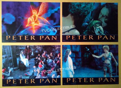Lobby Card Lot~ PETER PAN ~2003 ~Jeremy Sumpter~Jason Isaacs~Rachel Hurd-Wood~CS