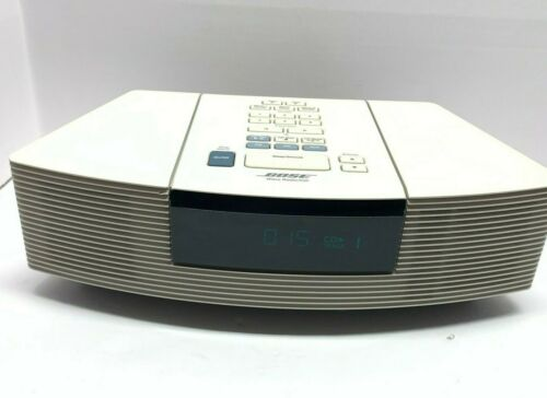 Bose Wave AWRC-1P Stereo AM/FM Radio Alarm Clock No Remote CD Player Works