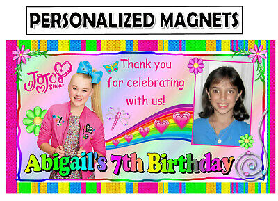 12 JOJO SIWA BIRTHDAY PARTY FAVORS PHOTO MAGNETS Birthday Party Favors Photo