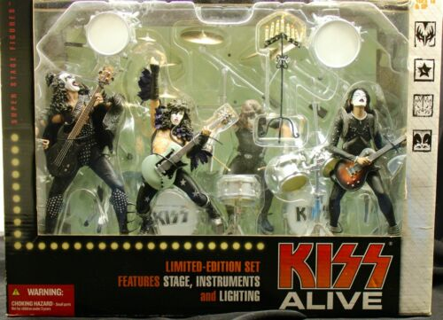 Kiss Alive Set McFarlane Toys Limited Edition Special Boxed Set SEALED NIB