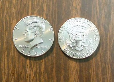 2001  P&D MINT   JOHN F KENNEDY HALF DOLLAR