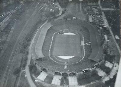 Wembley Stadium original aerial photo pre-60