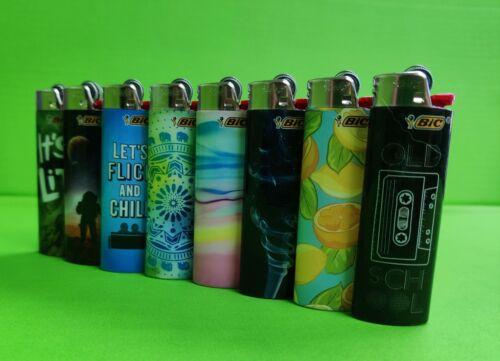 BIC Lighter Special Edition Design Series Lighters, ( 8 Packs )