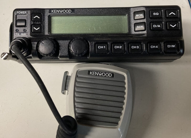 KENWOOD Remote Control Head with Mic and Bracket Will fit TK-690/790/890