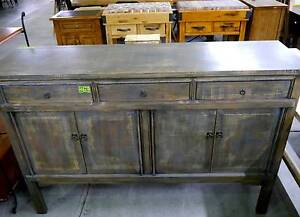 Ex Display Rustic Vintage Timber Shabby Chic Sideboard Buffet Melbourne CBD Melbourne City Preview
