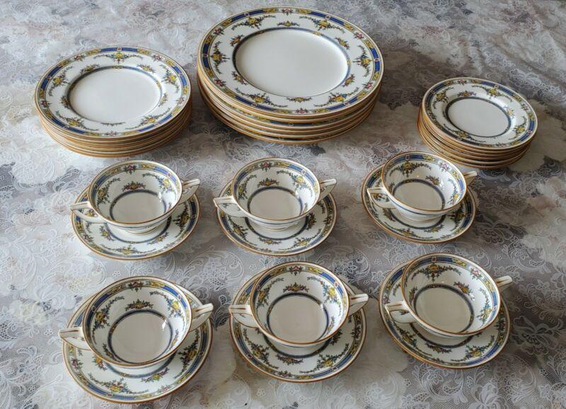Antique Vintage Mintons England Princess Set for 6