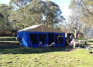Aussie Inlander Camper Trailer Like New Tamworth Tamworth City Preview
