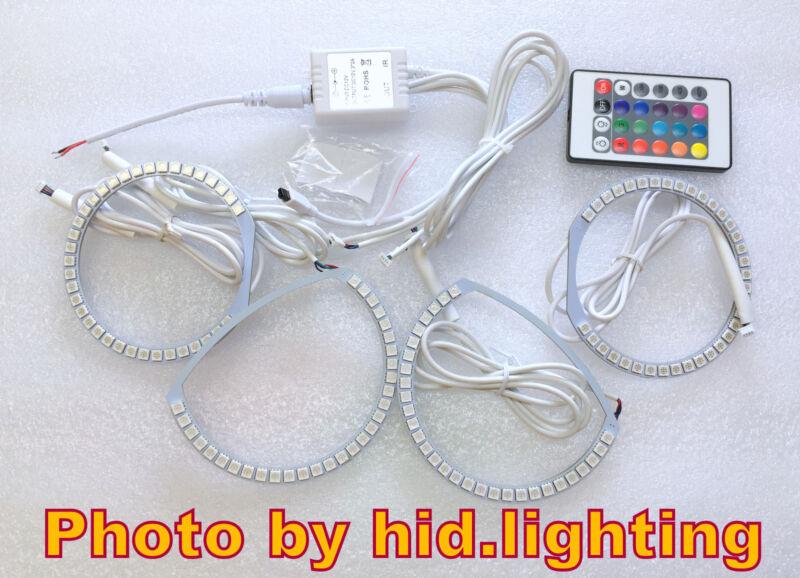 MAZDA 3 MAZDA3 Angel Eye Halo Light Ring RGB LED SMD Multi-Color Headlight Sedan
