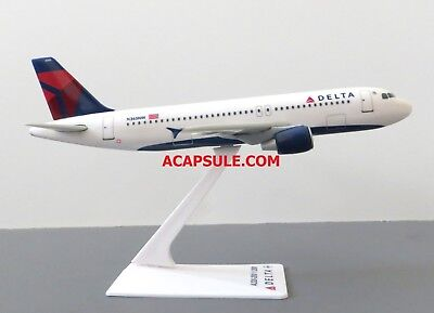Flight Miniatures Delta Airlines Airbus A320-200 1/200 Scale Model with Stand