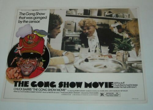 1980 The GONG SHOW MOVIE LOBBY CARD CHUCK BARRIS JAYE P MORGAN RIP TAYLOR