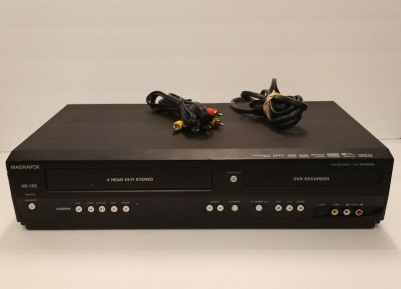 Magnavox ZV427MG9 DVD/VCR Recorder Player Combo HDMI - NO REMOTE - TESTED