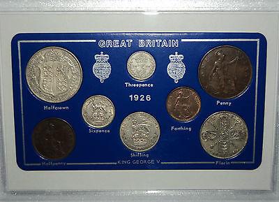 1926 GB Great Britain British Vintage Coin Set (90th Birthday Gift Birth Year)