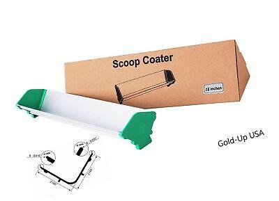 Dual Edge Aluminum Emulsion Scoop Coater For Silk Screen Printing Coating Too...