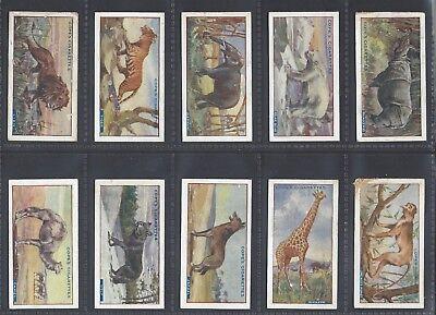 COPE - WILD ANIMALS & BIRDS (SCANDINAVIAN) - FULL SET OF 25 CARDS