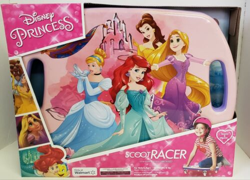 Scoot Racer DISNEY PRINCESS Scooter Board with Casters for Kids