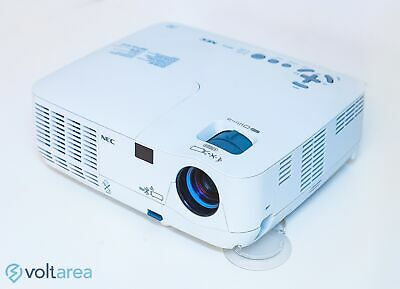 NEC NP216 DLP Projector Classroom Projector add remote and cables