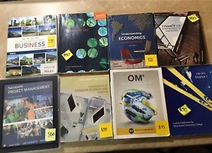 NSCC Business Admin Textbooks (1st & 2nd year)